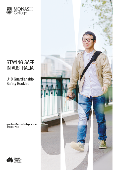 Staying safe in Australia - Under 18 Guardianship Safety Booklet
