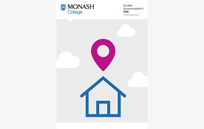 Cover of Monash College Accommodation Guide