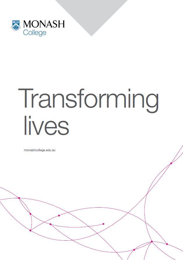 Monash College corporate guide cover