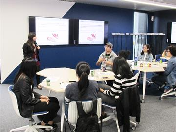 Monash College students at a career-readiness workshop
