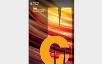 Monash College Course Guide 2020 cover