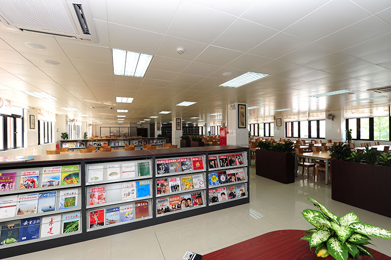 Library at New Oriental