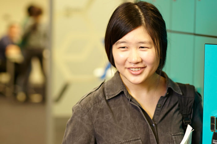 Photo of Nicole, a Monash University Foundation Year student