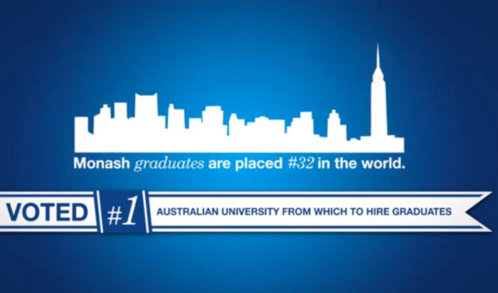 courses-monash-world-ranking-video.jpg Alt text: monash ranking video screenshot